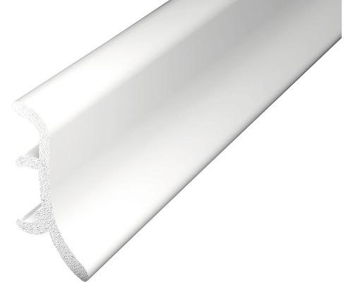 Soklová lišta pěnová bílá 2,5m 48mm