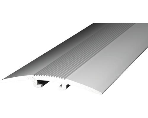 Alu kobercový profil, stříbrný 1m/40mm; narážecí (na trn)
