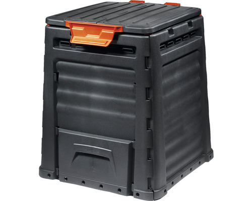 Kompostér plastový 320 l černý