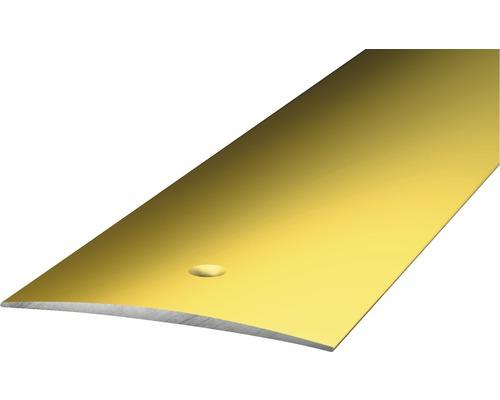 ALU přechodový profill zlatý 1m 50mm šroubovací (předvrtaný)