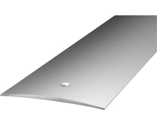 ALU přechodový profil šroubovací, stříbrný, 1m 50mm; samolepicí