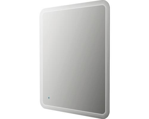 LED zrcadlo do koupelny 74 x 90 cm IP 44 (ochrana před vniknutím pevných cizích těles a stříkající vody)