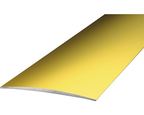 ALU přechodový profil, zlatý, 1m 50mm; samolepicí