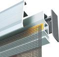 Lamelový závěs na dveře Comfort PLUS hliníková 120x250 cm