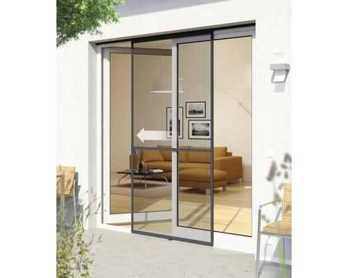 Ochrana proti hmyzu - dveře, posuvné Expert 120x240 cm, antracit
