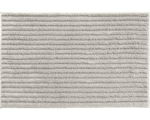 Předložka do koupelny Grund Riffle šedá 70x120 cm