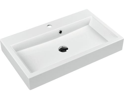 Umyvadlo Carlina 70 cm bílé