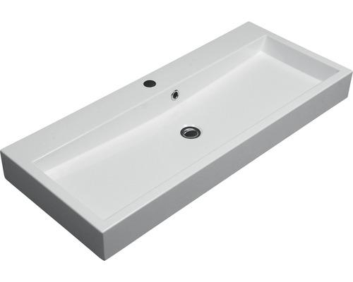 Umyvadlo Carlina 100 cm bílé