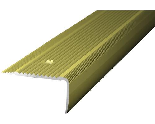 ALU schodový profill NOVA sahara 1m 45x23mm šroubovací