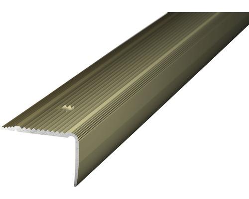 ALU schodový profil NOVA oc.matný 1m 30x20mm šroubovací (předvrtaný)