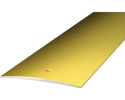 ALU přechodový profil zlatý 2,7m 60mm šroubovací (předvrtaný)
