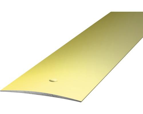 ALU přechodový profil sahara 1m 40mm šroubovací (předvrtaný)