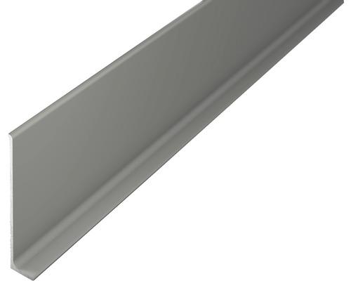 ALU soklová lišta 2,7m 60mm titán bez děrování