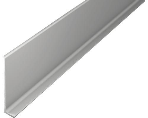 ALU-soklová lišta 2,7m 60mm střibrná bez děrování