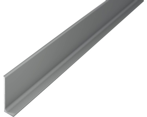 ALU-soklová lišta 2,7m 40mm titán bez děrování