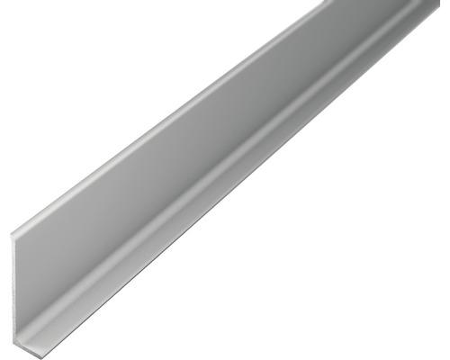 ALU-soklová lišta 2,7m 40mm stříbrná bez děrování
