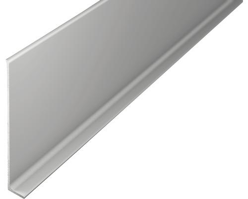 ALU-soklová lišta 2,7m 80mm střibrná bez děrování