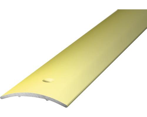 ALU přechodový profil, sahara 1m 30x1,6mm; šroubovací (předvrtaný)