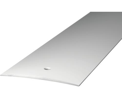 ALU přechodový profil stříbrný 2,7m 60mm šroubovací (předvrtaný)