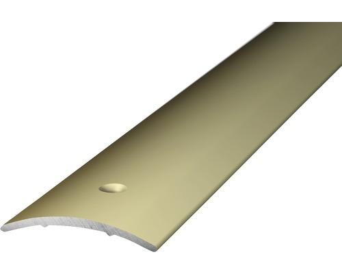 ALU přechodový profil, 30x1,6mm/1m havanna; šroubovací (předvrtaný)