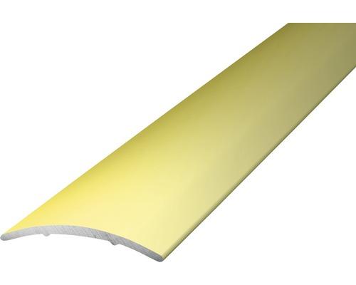 ALU přechodový profil, sahara 1m, 30x1,6mm; samolepící