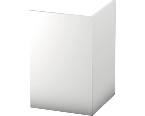 Rohová lišta 30x30mm; bílá; 2,5m tvrzené PVC