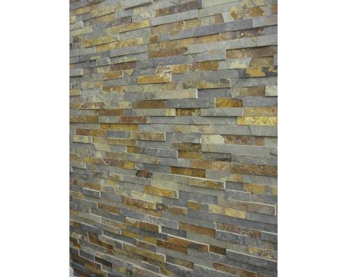 Stěnový obklad přírodní kámen břidlice Multicolor Z60/15