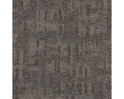 Kobercová dlaždice SMART-ART 860 hnědá