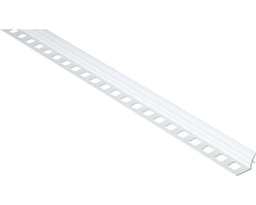 Lišta PVC vanová pod obklad 1850 mm bílá