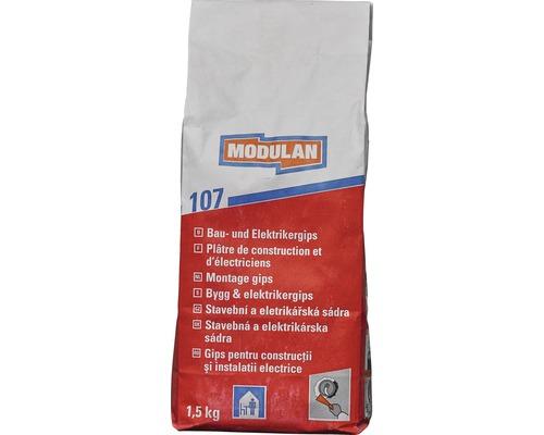Sádra pro řemeslníky a elektrikáře Modulan 107 1,5 kg