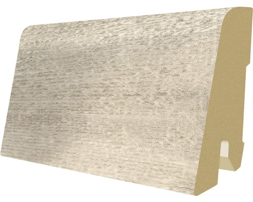 Podlahová lišta MDF dřevo jádrové 17 x 60 x 2400 mm