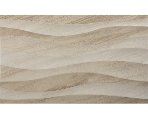 Dekor Islandia Marfil 33,3x55 cm