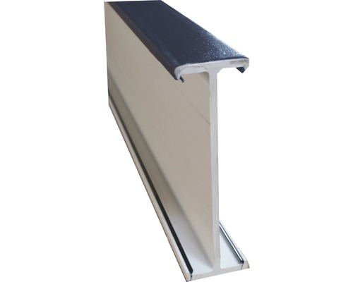 Spojovací profil ARON Comfort bílý / titan D: 1400 mm
