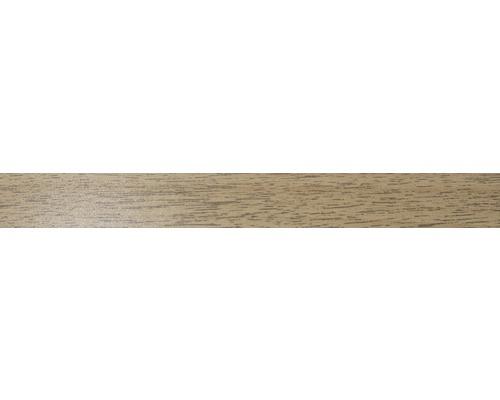 ABS hrana 2 x 22mm 9614 ořech lyon (metrážové zboží)