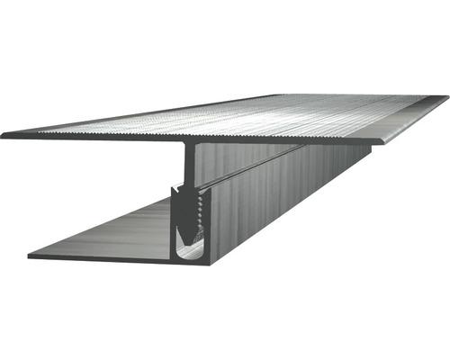 Přechodový profil 2500 x 60 x 22,5 mm, hliník