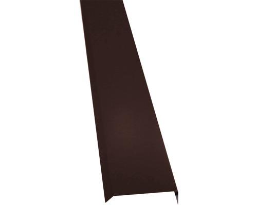 Krycí lišta PRECIT 1000 mm 8017 čokoládová hnědá
