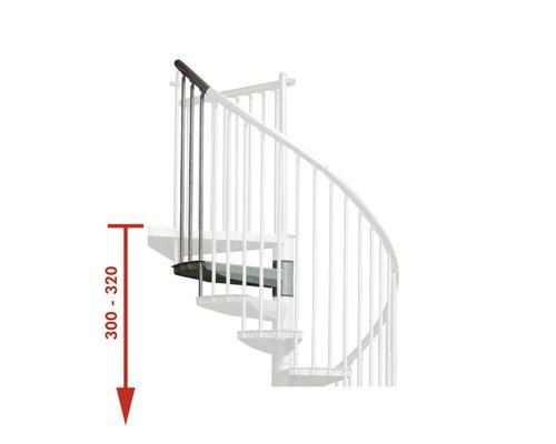 Nastavovací prvek pro schody Pertura Zenobia Ø 120 cm 1 stupeň