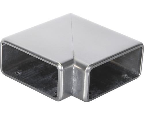 Horizontální rohové spojení madla Pertura 60 x 25 mm 90°, hliník (82)