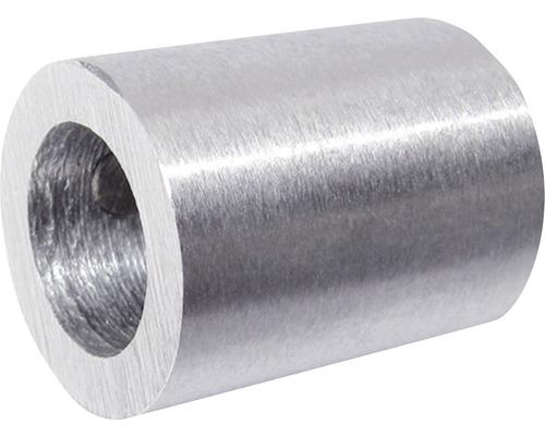 Nerezové ukotvení kruhové tyče zábradlí Pertura Ø 10 mm na zeď (64)