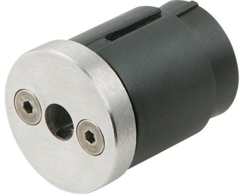 Nerezový adaptér/ koncovka pro madlo zábradlí Pertura Ø 40 mm (45)
