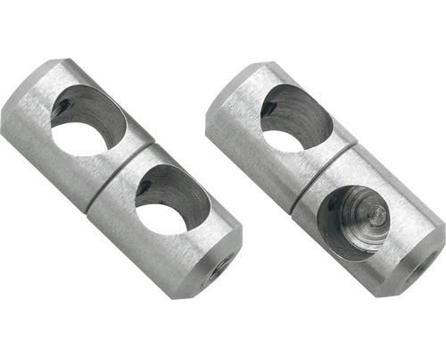 Nerezový otočný kloub pro kruhovou tyč zábradlí Pertura Ø 10 mm 5 ks (41)