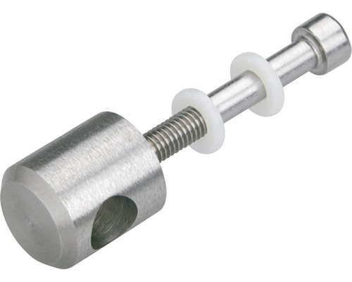 Nerezový držák kruhové tyče zábradlí Pertura Ø 10 mm, 5 ks (25)
