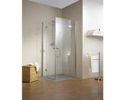 Sprchový kout Schulte MasterClass 90x90 cm průhledné sklo chrom