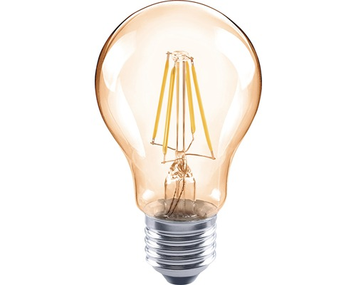LED žárovka FLAIR Vintage A60 4W/E27 400lm 2000K jantarová