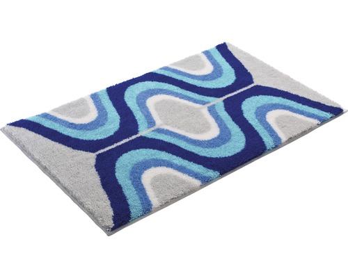 Koupelnová předložka KARIM 60x100 cm modrá