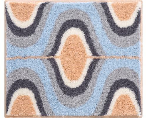 Koupelnová předložka KARIM 50x60 cm oranžová