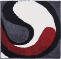 Koupelnová předložka Colani 60x60 cm tmavě šedá