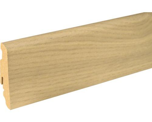 Soklová lišta Skandor dub bílý FLEI262 SU60L 19x58x2400 mm
