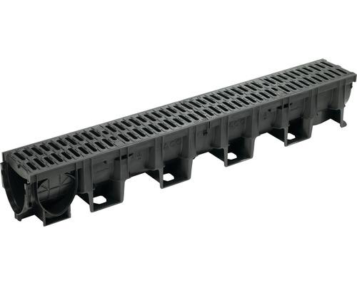Odvodňovací žlab ACO XtraDrain 132715, 100 cm, s kompozitní ochrannou hranou