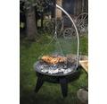 Gril na dřevěné uhlí závěsný Tenneker® TC-Swing II Ø 50 cm
